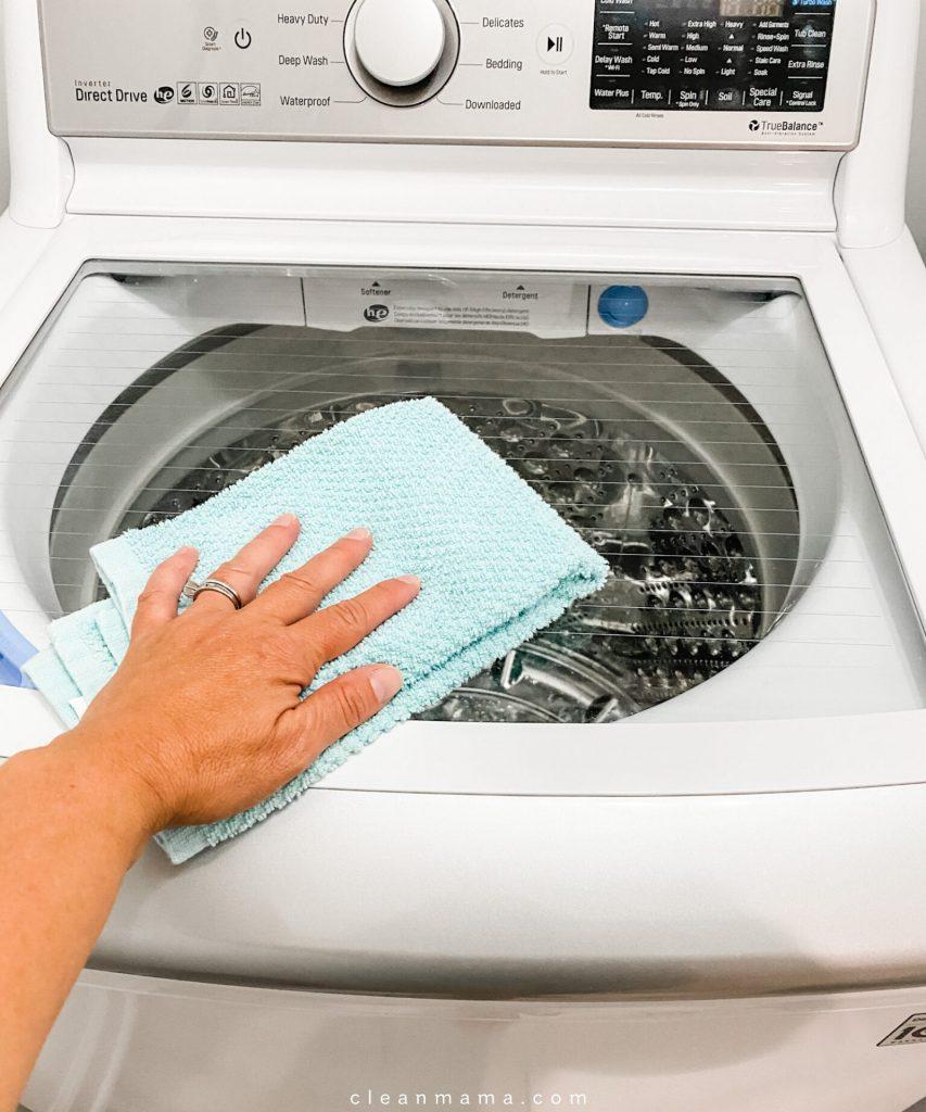 جرم گیری بدنه ماشین لباسشویی