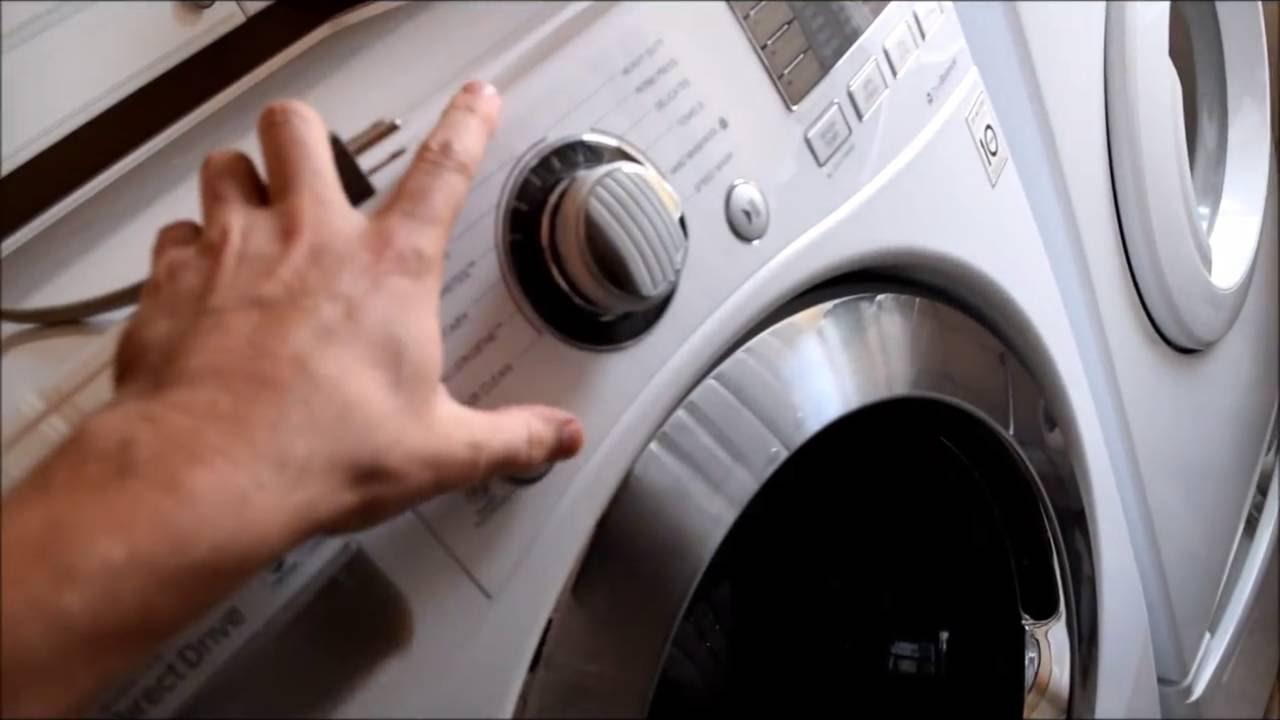 عدم روشن شدن ماشین لباسشویی