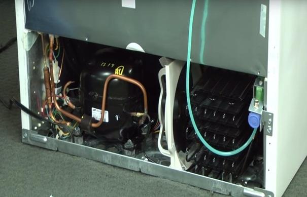 خرابی موتور یا کمپرسور