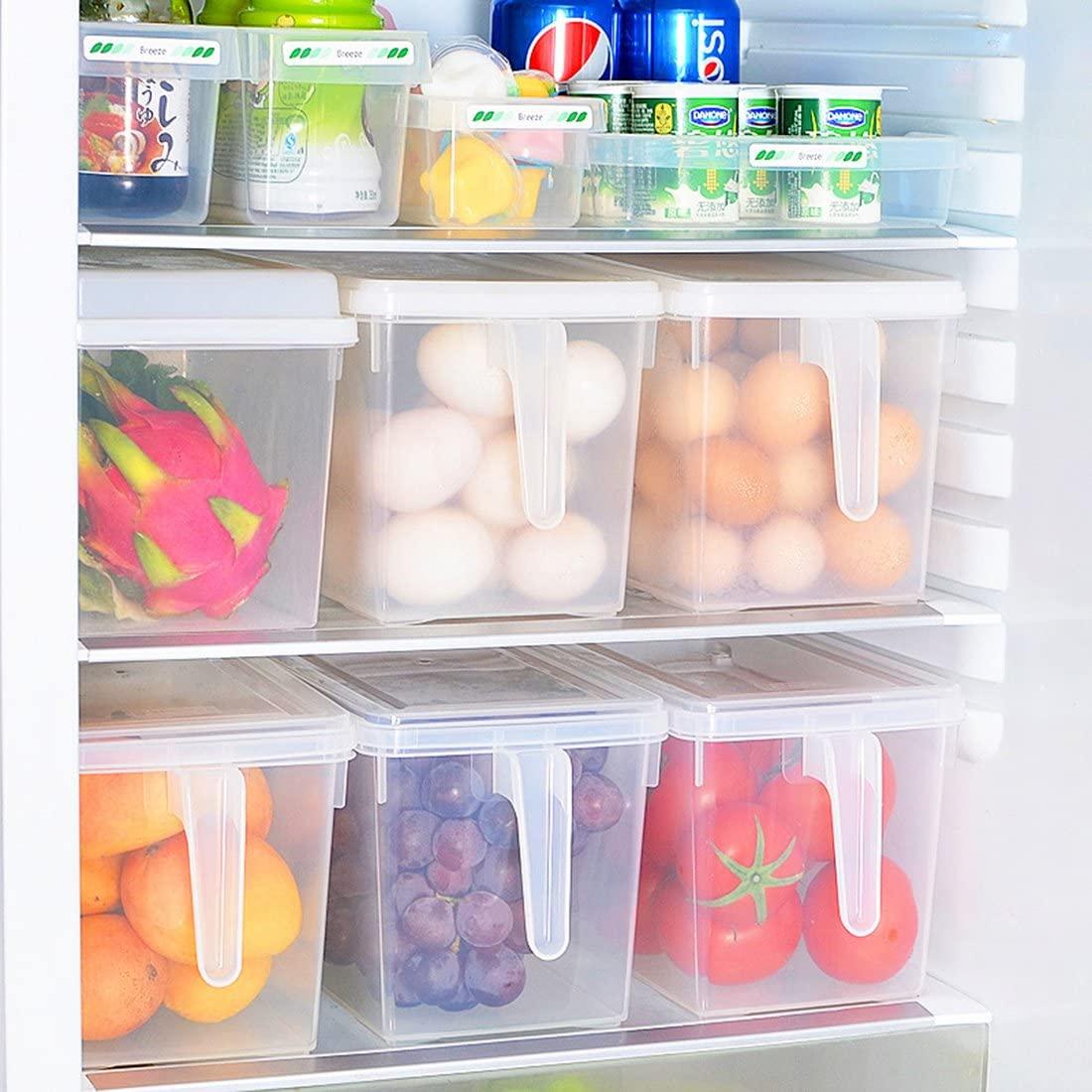 مرتب کردن مواد غذایی در یخچال