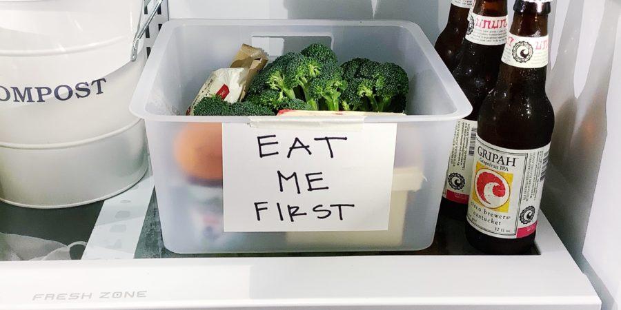 جدا کردن غذاهای فاسد شدنی در یخچال