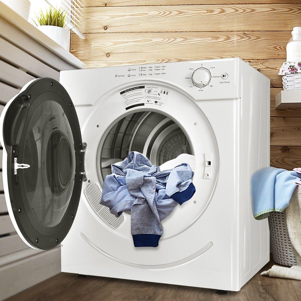 خشک کردن کند از عیب های ماشین لباسشویی